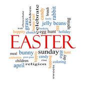 Fényképek Húsvéti szó felhő fogalmát