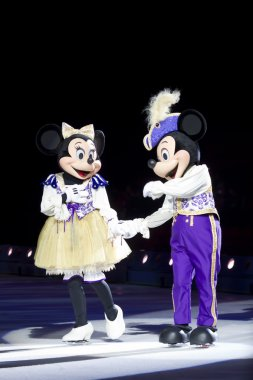 Mickey and Minnie Dressed Up