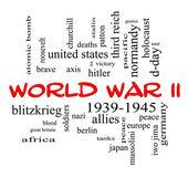 Fotografia seconda guerra mondiale parola concetto nuvola in Berretti rossi