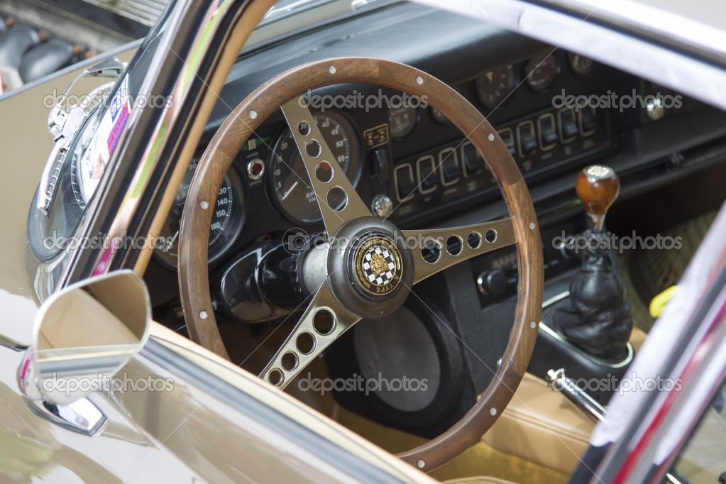 1968 Green Chevy Camaro Interior U2014 Stock Photo