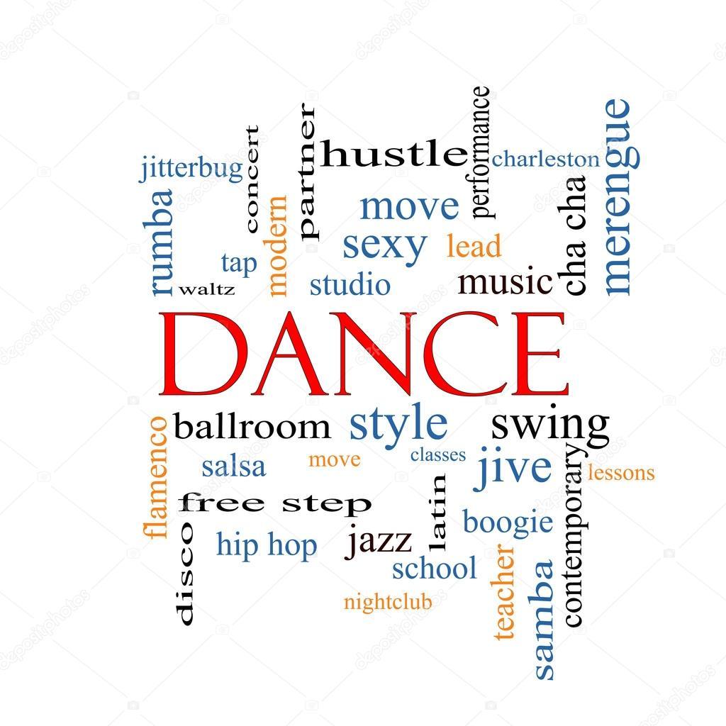 dance word cloud concept stock photo mybaitshop 42378367