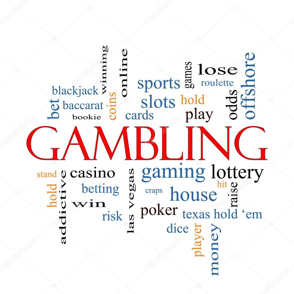 Gambling Word Cloud Concept