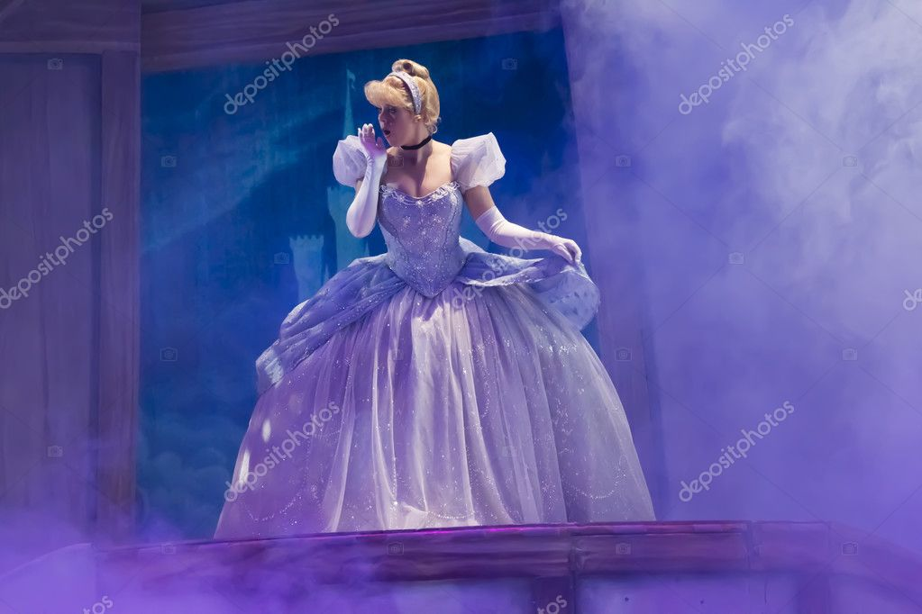 Cinderella in new dress