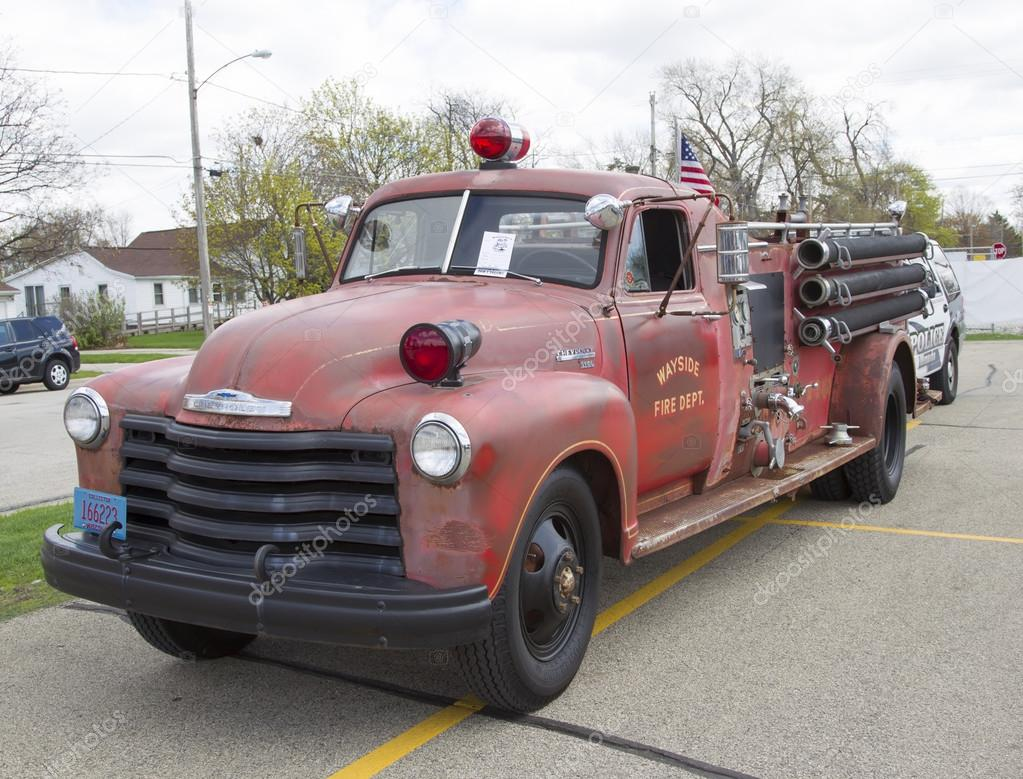 1951 Chevy Fire Truck Stock Editorial Photo Mybaitshop 46635313 Chevrolet Pickup