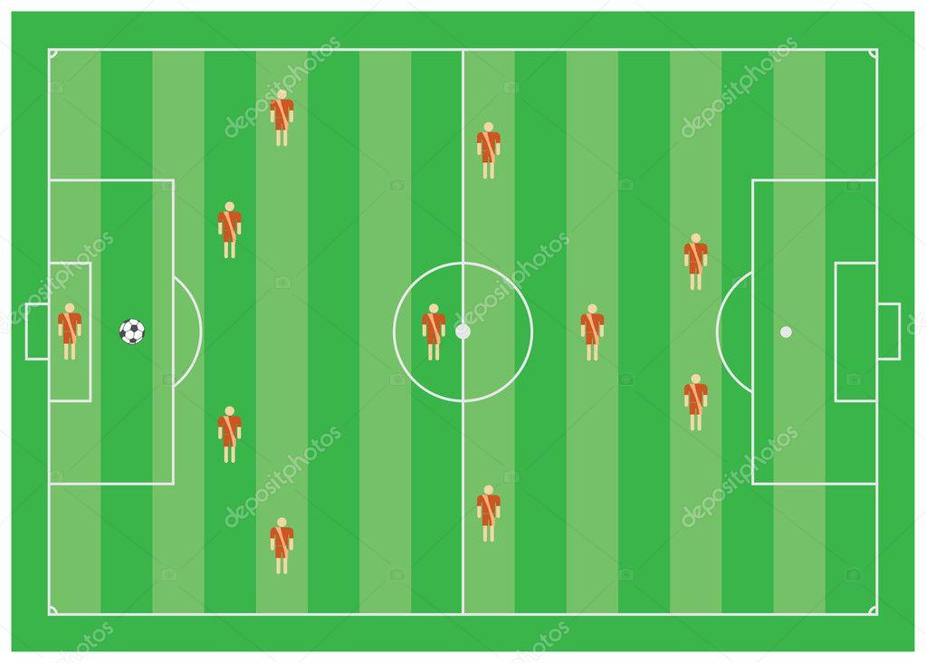 Схема против 4-1-3-1-1