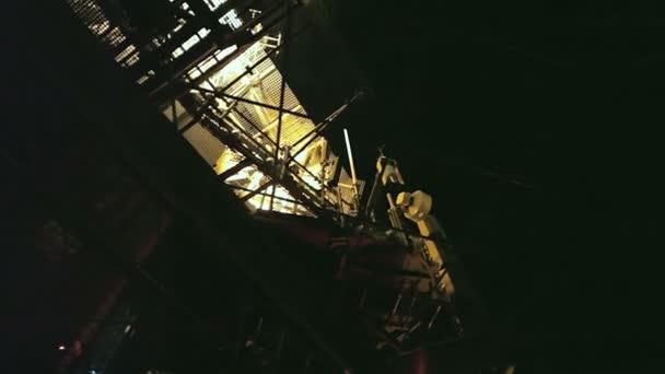 Eiffelova věž v noci