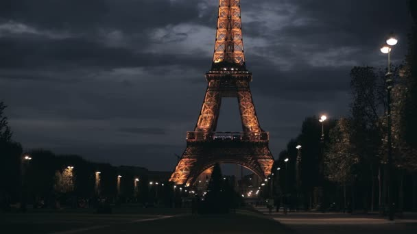 Eiffel Tower in the evening