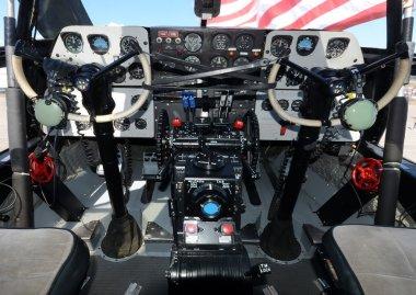 Pilot cabine dashboard cockpit