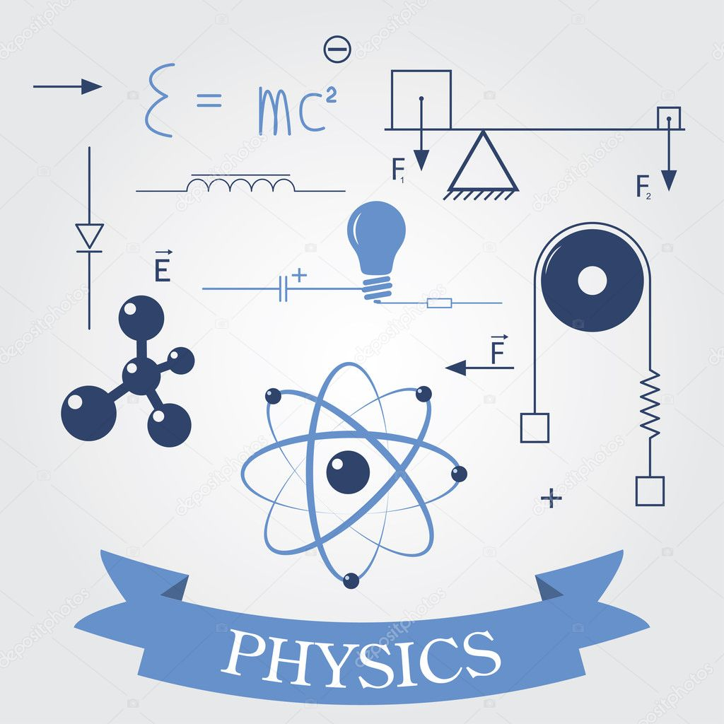 Science Physics From: Stock Vector © Vilisov #22028491