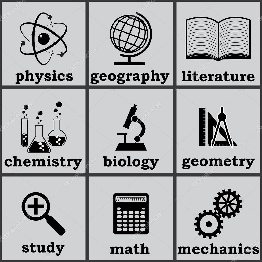 Symbols Of Education Stock Vector Vilisov 27154535