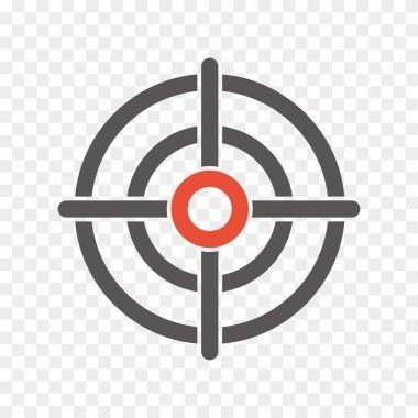 Crosshair icon sign. vector eps8 stock vector