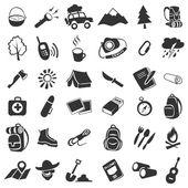 Campeggio icone