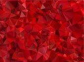 granát červený abstraktní pozadí mnohoúhelník