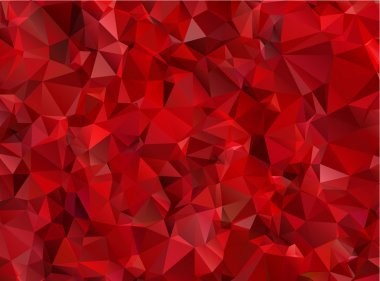Garnet red abstract background polygon stock vector