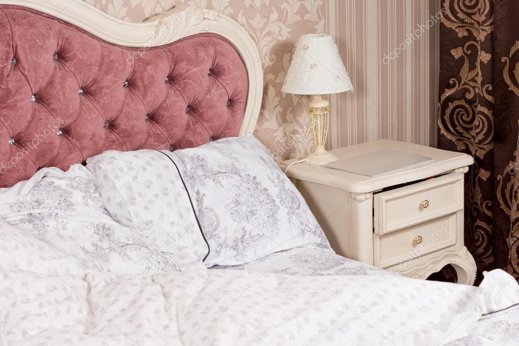 Detalle interior de la habitación de lujo — Fotos de Stock ...