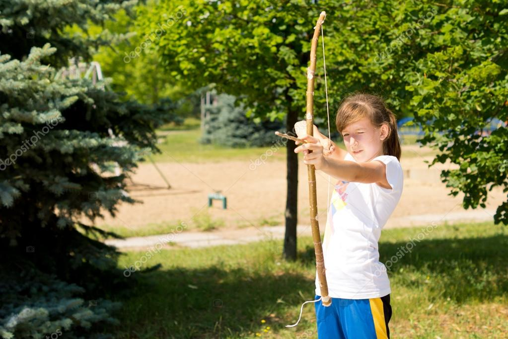 The sport of archery