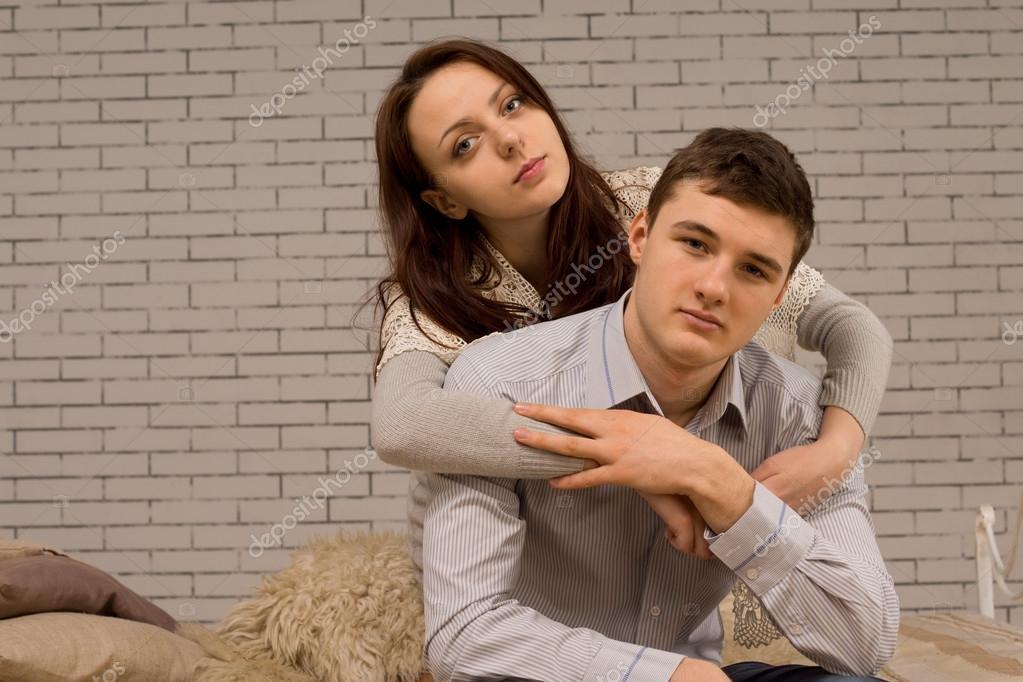 Интимный фотки молодой пары 9