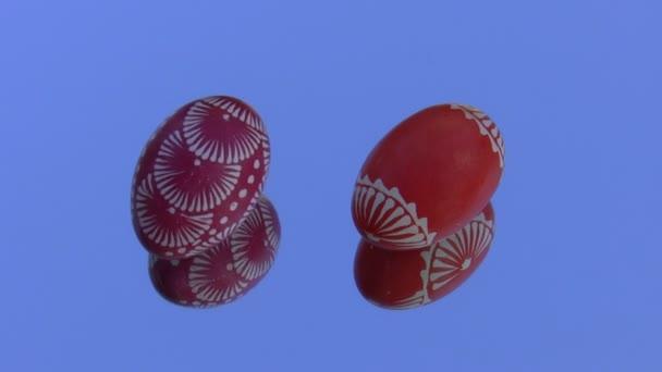 Two eggs dancing
