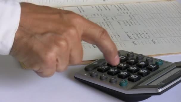 podnikatel použití kalkulačky