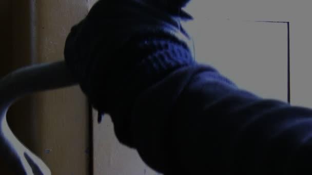 zloděj vloupání do trezoru