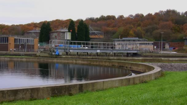 Waste water treatment plant tank