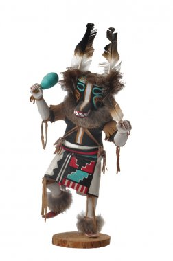 Native American Doll Carving