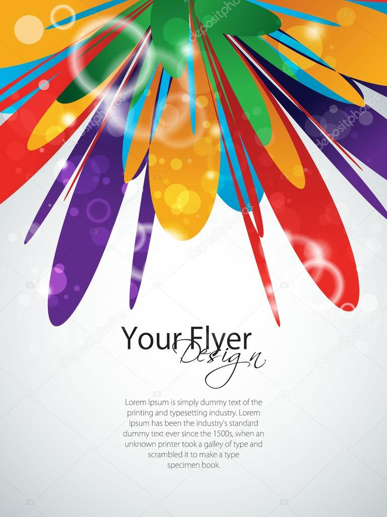 Vector colorful abstract design, EPS 10