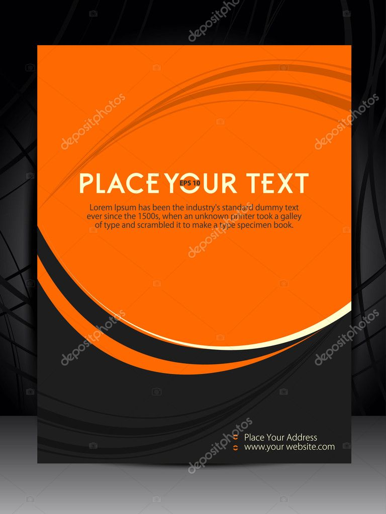 Flyer Minimal design