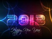 Fotografie Novoroční mejdan!! šumivé pozdravy. tmavé pozadí s elementární vektorové kreslení ideální pro Novoroční večírek pozvánky