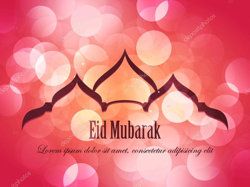 Beautiful eid mubarak card design with nice mosque and colorful beautiful eid mubarak card design with nice mosque and colorful background eps 10 stock kristyandbryce Choice Image