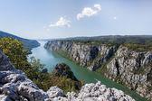 Duna gorge iron gate a szerb-román határon
