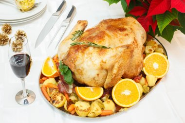 Holiday roasted turkey