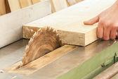 Tesař funguje na Dřevoobráběcí stroje nástroje