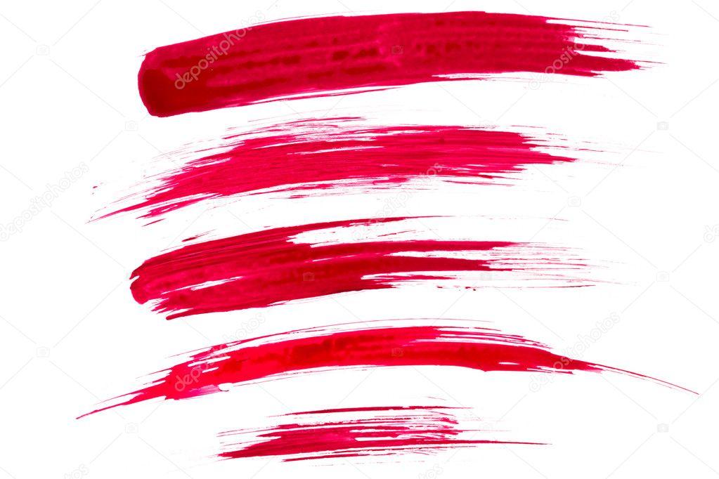 Re paint brush strokes