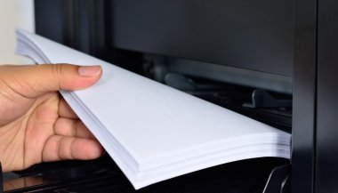 multifunction printer paper feed