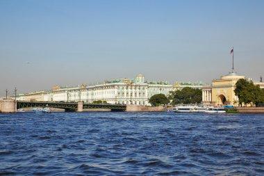 Neva river. Saint-Petersburg. Russia