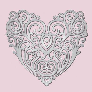 Heart metallic