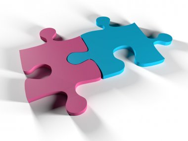 Man and woman puzzle
