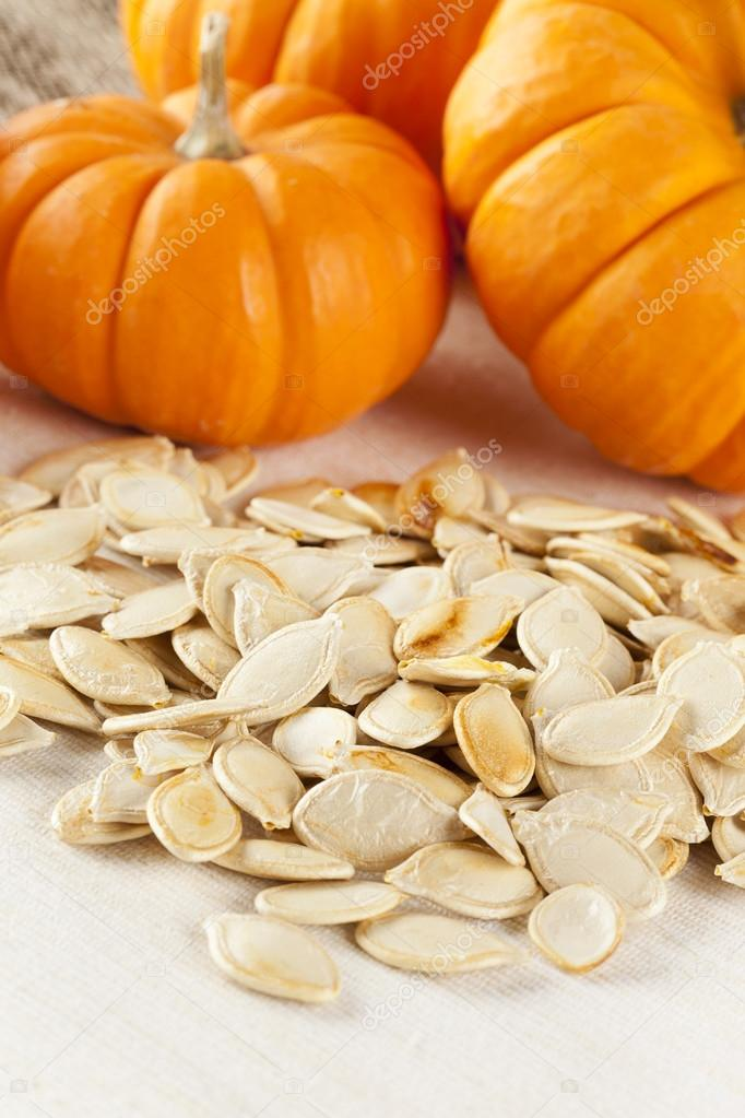 Baked and Salted Pumpkin Seeds