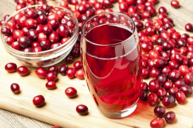 Fresh Organic Cranberry Juice