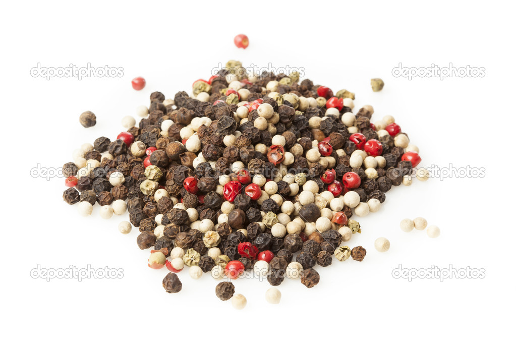 Raw Whole Four Peppercorn Blend Stock Photo C Bhofack2 22335983