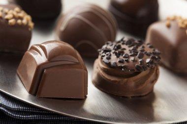 Gourmet Fancy Dark Chocolate Truffle Candy
