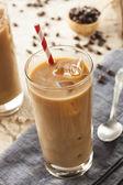 Fényképek díszes jeges kávé tejszín