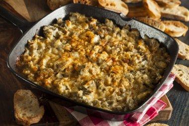 Homemade Cheesy Garlic Artichoke Spread