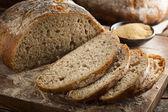 Organic Homemade Ancient Grain Bread