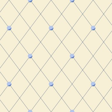 Bright beige diamond shape geometric seamless pattern, vector