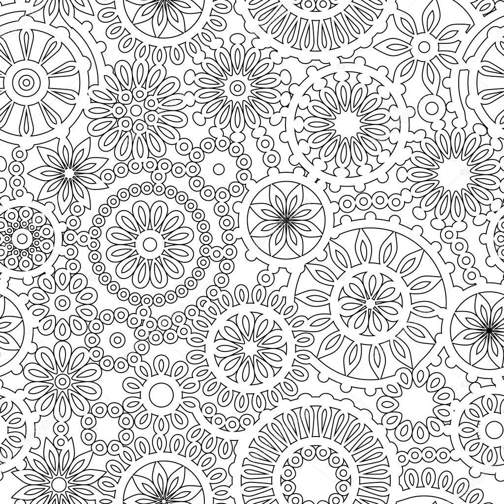 Resumen filigrana geométrica tapetitos de patrones sin fisuras en ...