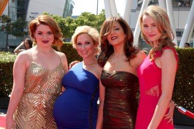 Jennifer Stone, Leigh-Allyn Baker, Maria Canals-Barrera, Bridget Mendler