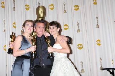 Kate Winslet, Sean Penn, and Penelope Cruz