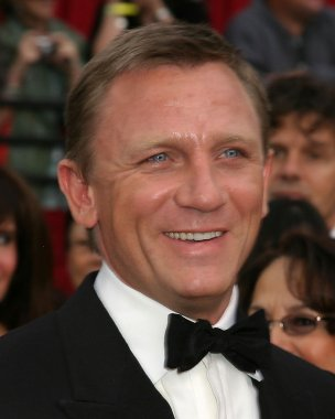 Daniel Craig at the 79th Annual Academy Awards at Kodak Theater, Hollywood & Highland in Hollywood, CA on February 25, 2007 stock vector